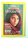National Geographic : Vol 167, No. 6 : Afghan Girl Cover