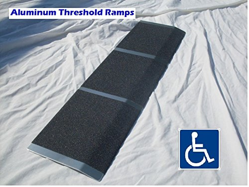 Aluminum Wheelchair Mobility Ramp Threshold 8