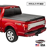 Undercover SE One-Piece Truck Bed Tonneau Cover | UC3086 | Fits 2009 - 2021 Dodge Ram 1500 5' 7' Bed (67.4')