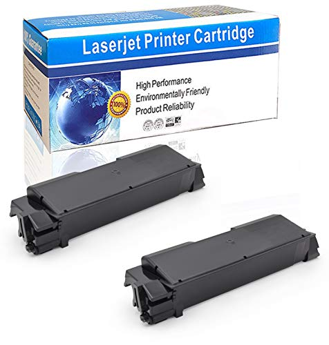 ZET Compatible Toner Cartridge Replacement for Kyocera TK-592 TK-592K FS-C5250DN FS-C2126MFP FS-C2026MFP FS-C2626 MFP FS-C2526MFP M6526CDN M6026CIDN | 1T02KV0US0 (Black, 2 Pack)