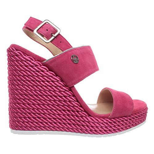 Liu-Jo S19095P0021 Sandalo Zeppa Donna Rosa 36