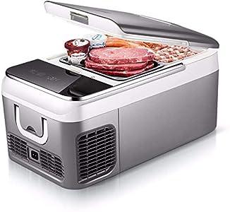 BATOWE Mini frigorífico eléctrico Frigorífico 18/26 litros Portable compresor del refrigerador del congelador refrigerador de la CC 12V 24V AC 220V