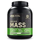 Optimum Nutrition Serious Mass, Mass Gainer avec Whey, Proteines Musculation Prise de Masse avec Vitamines, Creatine et...
