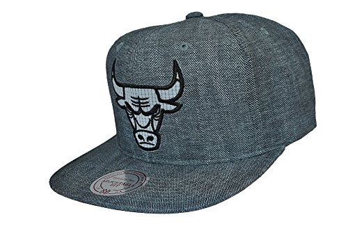 Mitchell & Ness Heren Caps/Snapback Arch G3 Chicago Bulls Logo Grey
