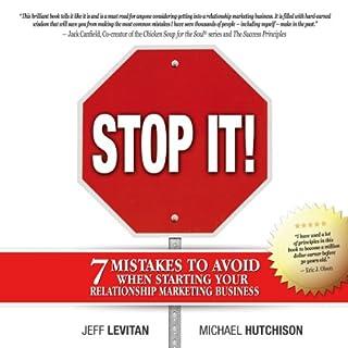 Stop It! audiobook cover art