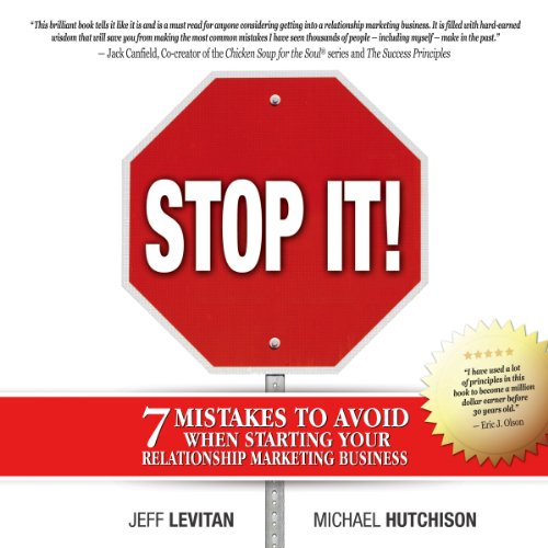 Stop It! audiobook cover art