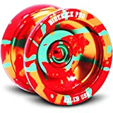 Sidekick Yoyo Pro Splashes Professional Aluminum UNresponsive YoYo (Red / Yellow / Green)