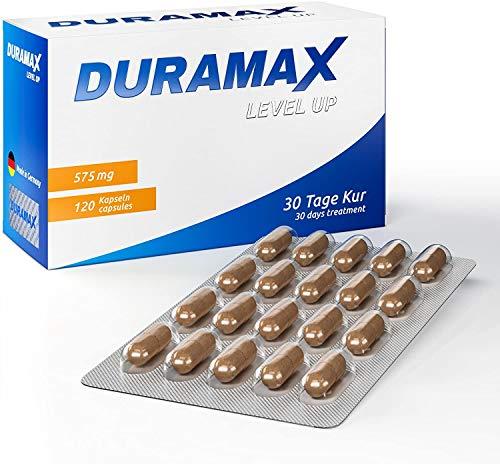 Duramax Level Up - Volle Performance - Für Aktive Männer - L-Arginin - 30 Tage Kur - 120 Kapseln