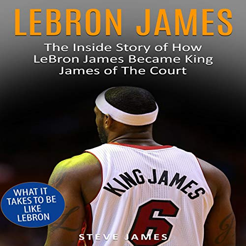 Lebron James audiobook cover art