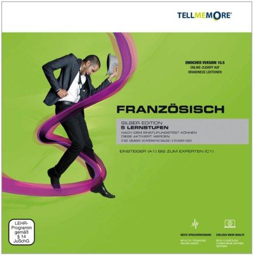 TELL ME MORE® Enriched Version (10.5) : Französisch, Silber Edition, DVD-ROM 5 Lernstufen. Einsteiger (A1) bis zum Experten (C1)