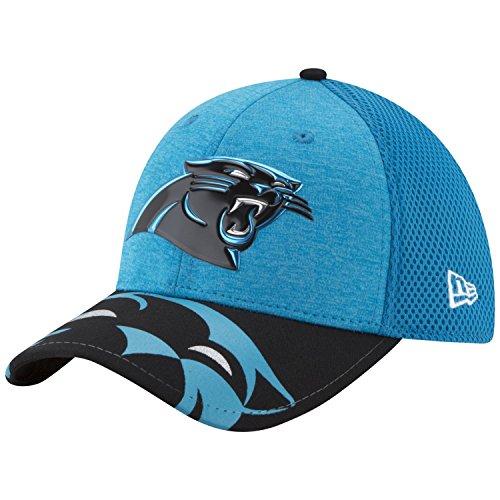 New Era NFL 17 Official On Stage 39Thirty Carolina Panthers Gorra de béisbol, Azul (Blue), Large para Hombre
