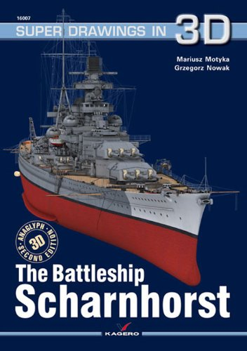 Battleship Scharnhorst (Super Drawings in 3D)