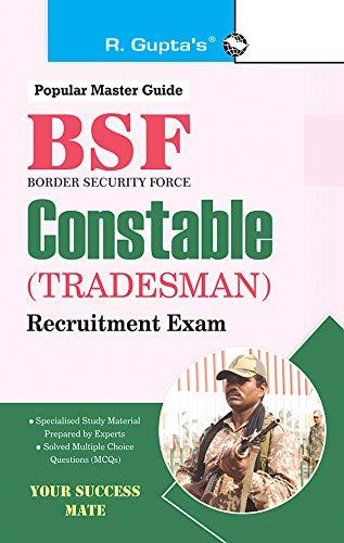 BSF: Constable (Tradesman) Exam Guide (English Edition)
