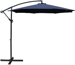 Instahut 3m Patio Outdoor Umbrella-Navy
