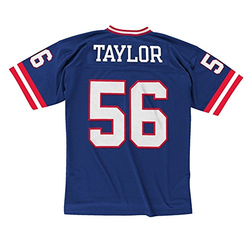 Mitchell & Ness Lawrence Taylor New York Giants Throwback NFL Trikot Blau XL