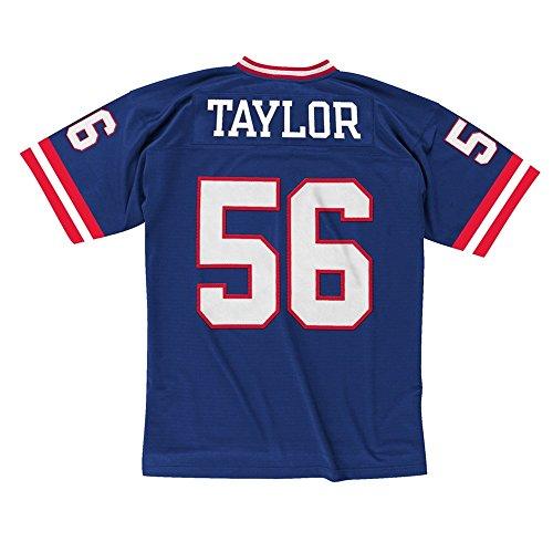 Mitchell & Ness Lawrence Taylor New York Giants Throwback NFL Trikot Blau L