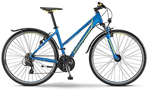 Winora Grenada 2015 Crossbike Damen blau/gelb matt (Rahmenhöhe 46)