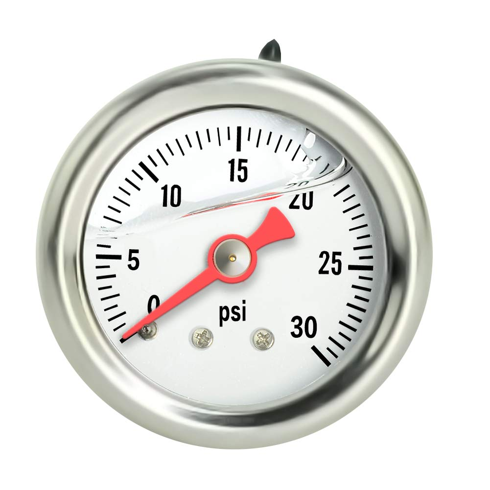 Taisher Liquid Max 62% OFF Filled Pressure Gauge kpa 304 0-30psi Stainless Limited price sale