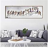 NRRTBWDHL Kobe Bryant Poster Dekorative Malerei Leinwand