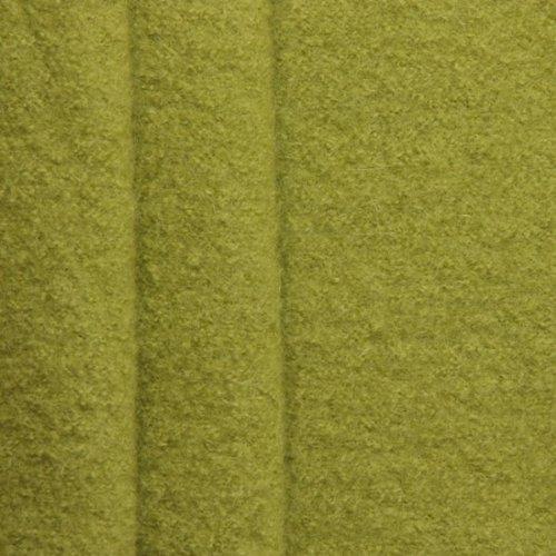 STOFFKONTOR Walkloden Stoff, Wollstoff Meterware aus 100% Wolle, Lind-Grün