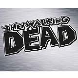 SUPERSTICKI The Walking Dead Auto Aufkleber ca 20cm Aufkleber Sticker Decal aus Hochleistungsfolie Aufkleber Autoaufkleber Tuningaufkleber Racingaufkleber Rennaufkleber Hochleistungsfolie