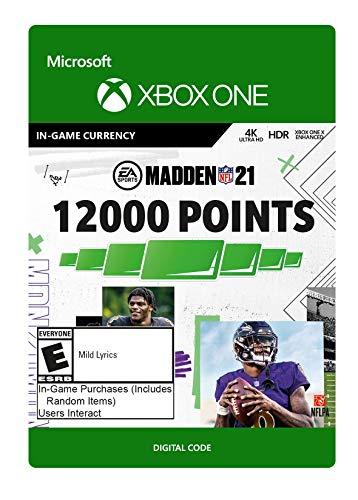 Madden NFL 21: 12000 Madden Points - Xbox One [Digital Code]
