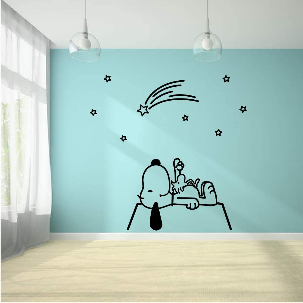 Snoopy in Space Rocket to The Easy-to-use R Moon Gaze Star Recommendation Stars