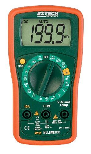 Extech MN35 - Multímetro pequeño digital
