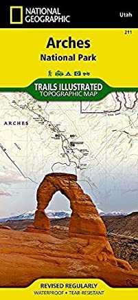 Arches National Park (National Geographic Trails Illustrated Map) by National Geographic Maps - Trails Illustrated(2014-02-03)