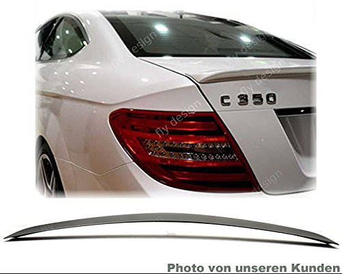 Car-Tuning24 51236614 wie AMG C204 C 204 Coupe SPOILER AMG HECKSPOILER HECKFLÜGEL Typ A * SCHWARZ 197