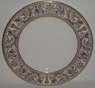 Wedgwood Florentine Gold W4219 Dessert / Pie Plate