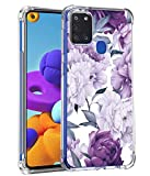 Leychan for Samsung Galaxy A21s case, Slim Flexible TPU for