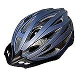 Casco da Ciclismo - Casco Leggero Regolabile per Uomo e Donna, Casco da Mountain Bike da Bici da Corsa equipaggiamento per Bicicletta, Adatto per Circonferenza della Testa (58-65 cm