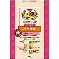 ニュートロジャパン ナチュラルチョイス [小型犬用] 7歳以上エイジングケア チキン&玄米 3kg