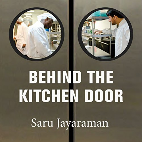 Behind the Kitchen Door audiobook cover art