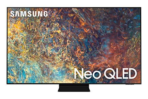 SAMSUNG 55-Inch Class Neo QLED QN90A Series - 4K UHD Quantum HDR 32x Smart TV with Alexa Built-in (QN55QN90AAFXZA, 2021 Model)