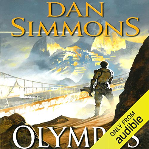 Olympos audiobook cover art