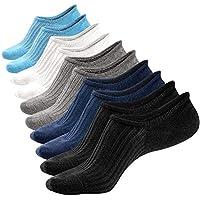 6-Pack Mottee & Zconia Mens Low Cut No Show Mesh Top Air Fresh Ventilation Non-Slide Cotton New Color Socks