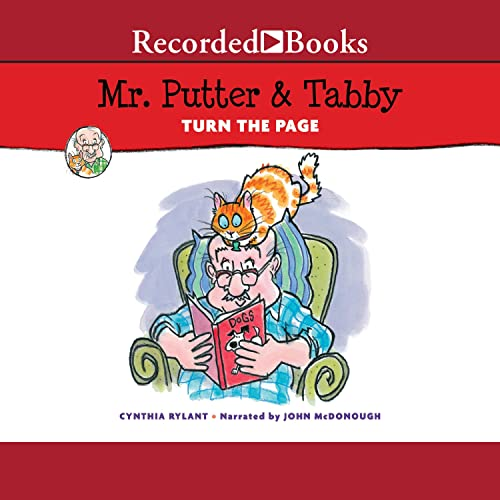 Mr. Putter & Tabby Turn the Page Audiobook By Cynthia Rylant cover art