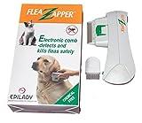 Epilady Zapper Pets Compact électrique Peigne à Puces