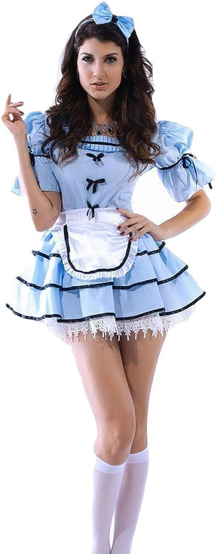 Fancy Me Damen Sexy 3 Stück Sicht Glas Alice Im Wunderland Halloween Kostüm Kleid Outfit B00P2Q7Z6O Wirtschaftlich und praktisch | Bekannt für seine gute Qualität