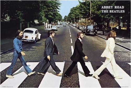 empireposter - Beatles, The - Abbey Road - Größe (cm), ca. 91,5x61 - Poster, NEU -
