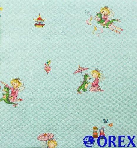 Villa Coppenrath Tapete Kindertapete Vlies Prinzessin Lillifee 413038 blau Tapete Kinder