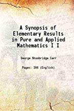 Best synopsis of pure mathematics Reviews