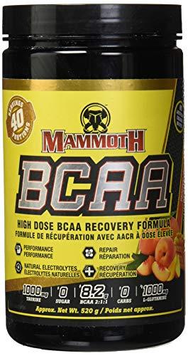 Interactive Nutrition Mammoth BCAA Peach Mango 40 Servings, 520 g