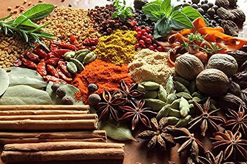 XIAOMA Chili Spice Walnut Biolebensmittel Küche Leinwand drucken Plakate und gedruckte Kunst Bilder, rahmenlose Wohnzimmer Küche Dekoration (20x35cm)