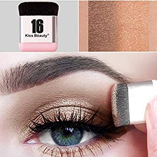 Xixou Lazy Eyeshadow Stamp 16 brand Holiday Edition Everyday Magazine eye shadow with Double Colors Glitter Gradient Eye Shadow Palette Long Lasting