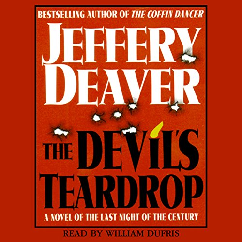 The Devil's Teardrop audiobook cover art