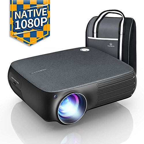 VANKYO Performance V610 Native 1080P LED Projector, Full HD Video Projector, ±40° Digital Keystone Correction, Compatible with Smartphone, TV Stick,...
