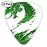 Guild Wars Celluloid Guitar Picks Plectrums (12 Pack) pour guitare électrique, guitare acoustique, mandoline et basse de guitare